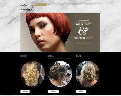 Salon Ambiance Website