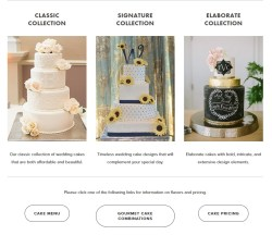 The Vintage Wedding Cake Collections