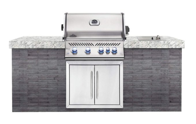 Napoleon BILEX605RBINSS Built-in Natural Gas Grill