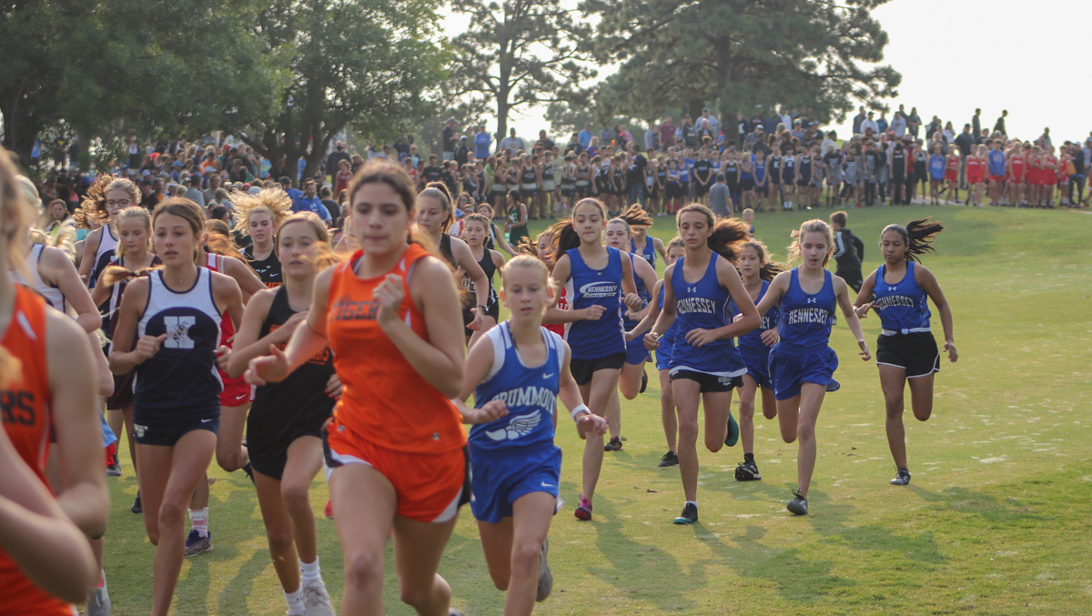 ANNUAL HENNESSEY CROSS COUNTRY MEET.