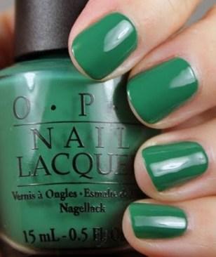 Jade nail polish