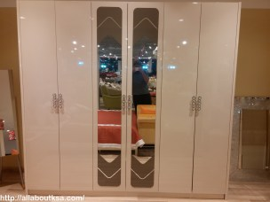 You can find this beautiful 6 doors, elegantly designed cupboard for just1155 deducted from 2199.