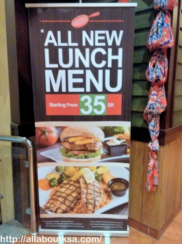 Sizzler House - Lunch Offer
