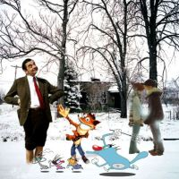 Art-Game-W-8-Winter with Oggy and the Cockroaches