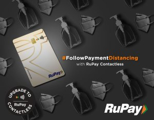 NPCI urges citizens to #FollowPaymentDistancing with RuPay Contactless in latest campaign