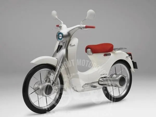 x honda new electric scooter