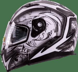 IV2 Helmets Demon Samurai Dual Visor - best snowmobile helmet