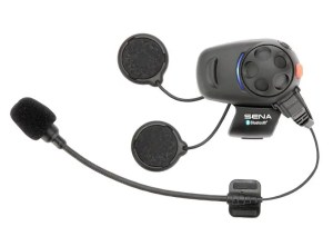 Sena SMH5-01 Low-Profile Motorcycle and Scooter Bluetooth Headset, intercom