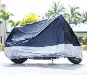 XYZCTEM All Season Black Waterproof Sun Motorcycle Cover