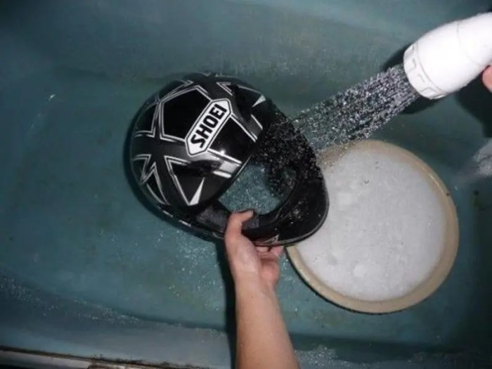 How to Clean Helmet Properly