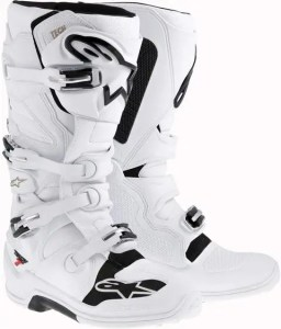 Alpinestars Tech 7 Boots-White-12