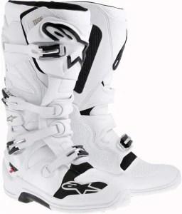 Alpinestars Tech 7 Boots-White-12