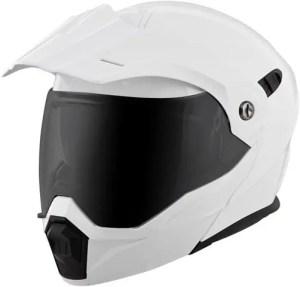 Modular dual sport helmet