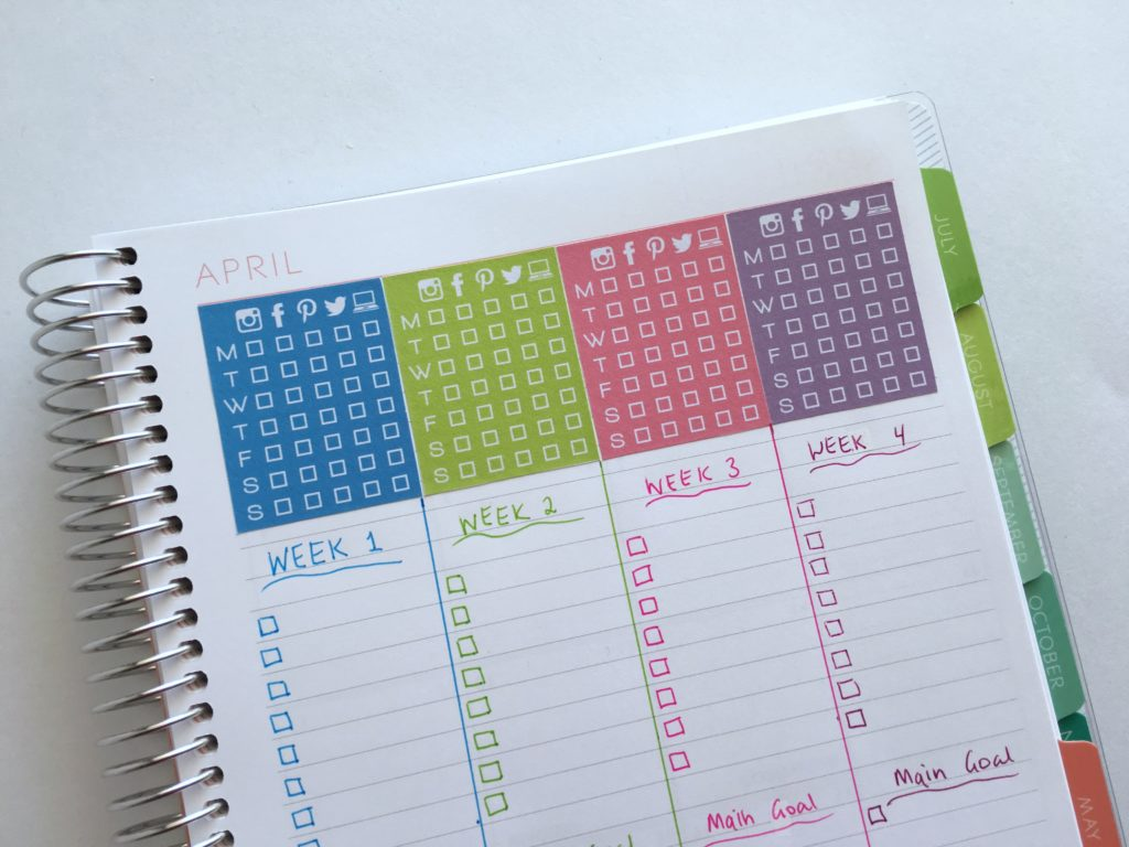 100 Things To Put In Your Habit Tracker Of Your Planner Or Bullet Journal Plus Free Printable