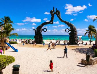 Playa del Carmen # 1 For The Most affordable tourist spots for holiday travel