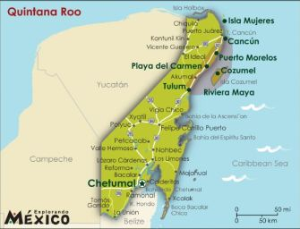 Quintana Roo is tourism giant in Mexico and all of Latin America