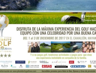 Planet Hope Celebrity Golf Riviera Maya Invitational 2017