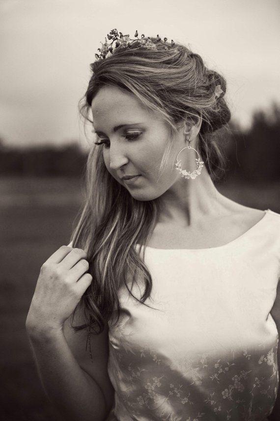 Statement Earrings | FLEURS PETITES II