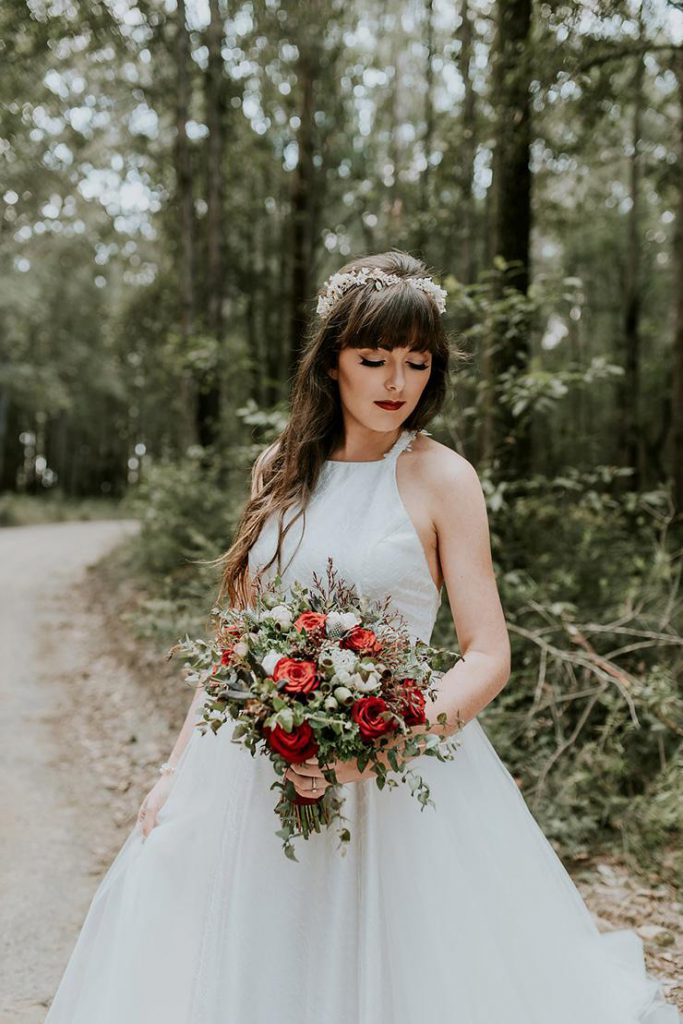 Moody Woodland Wedding Inspiration Photography By Woodlands Creative