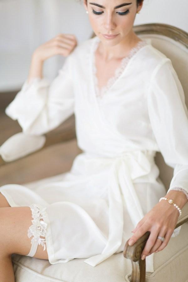 Bridal Garter | Ivory Lace wedding garter