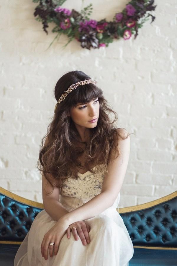 Bohemian Bridal Headpiece | WESTBURY