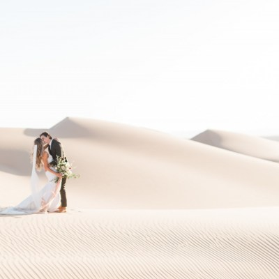 Glamis Sand Dunes California - Styled Bridal Shoot