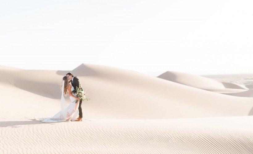 Glamis Sand Dunes California - Styled Bridal Shoot