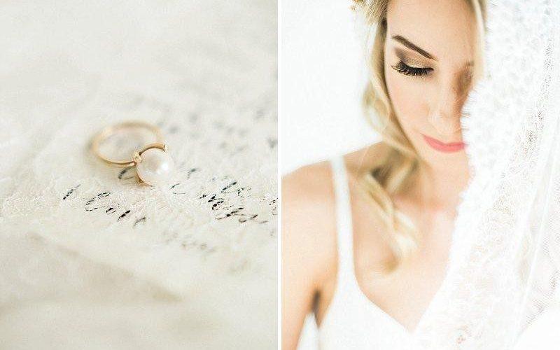 Romantic Bridal Boudoir Featured on Hochzeitsguide