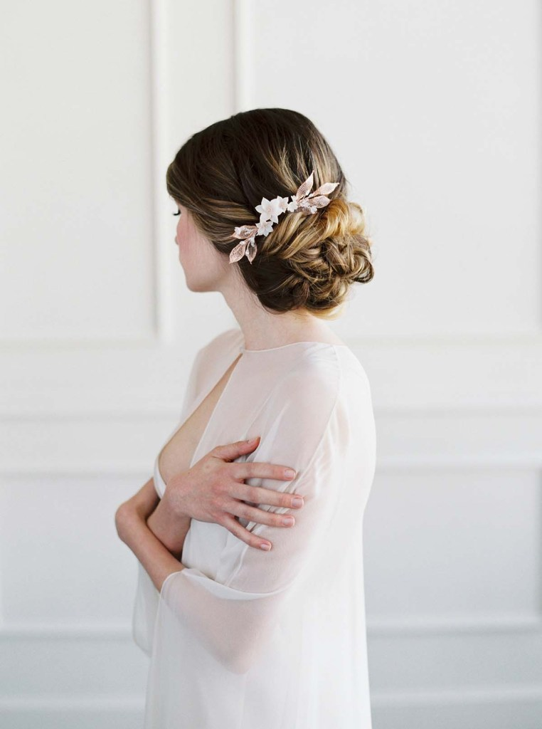 Botanical Bridal headpiece - ROESIA