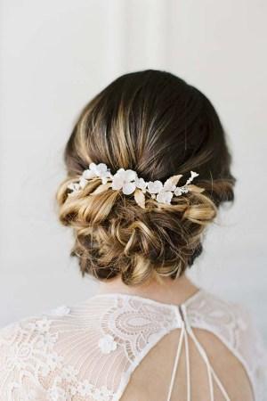 Gold Bridal Hairvine - VIGNE FLEURISSANTE