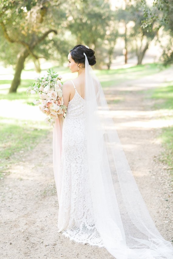 ALAIR - Draped Wedding Veil