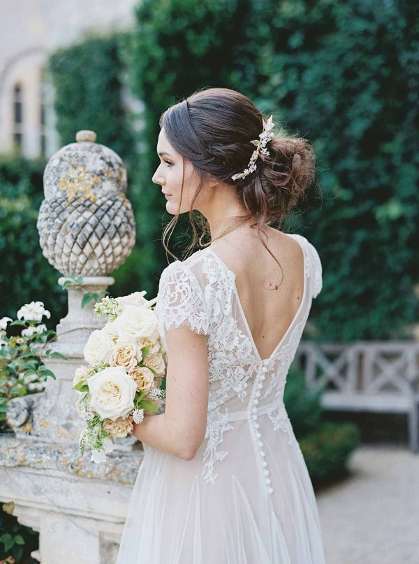 Wedding Hair Piece Vigne de Fee