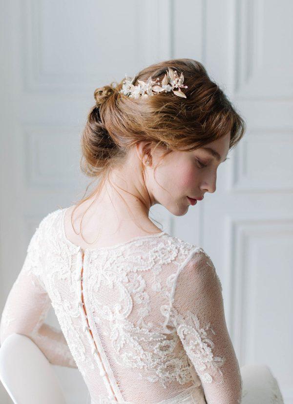 wedding hair piece, bridal hair piece