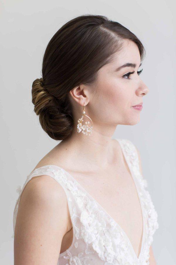 wedding earrings, bridal earrings, wedding jewellery