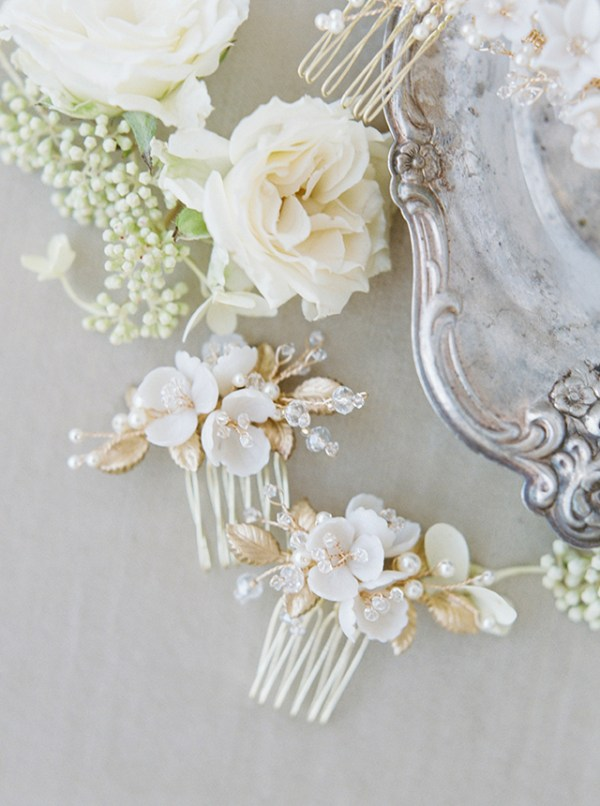 Wedding Hair Combs | Hellebores 7