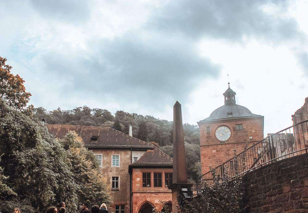 Beautiful buildings in Heidelberg and why you should spend one day in Heidelberg Germany