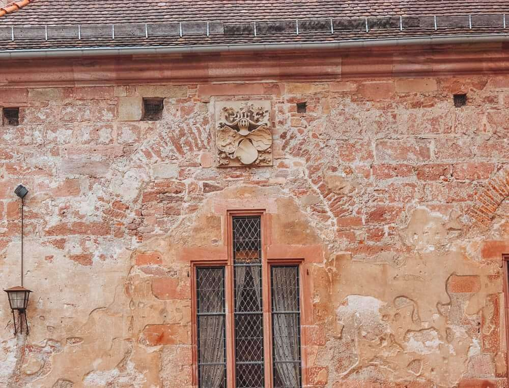Beautiful buildings at Heidelberg Castle the perfect way to spend one day in Heidelberg Germany