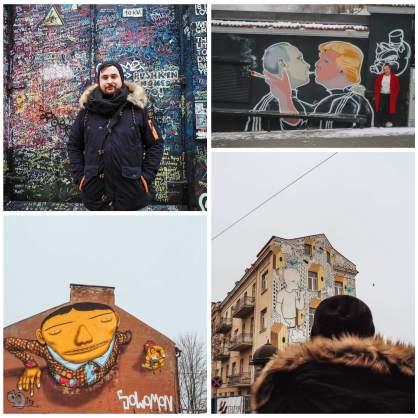 Vilnius Street Art all about RosaLilla