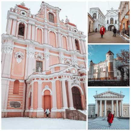 Churches of Vilnius all about rosalilla