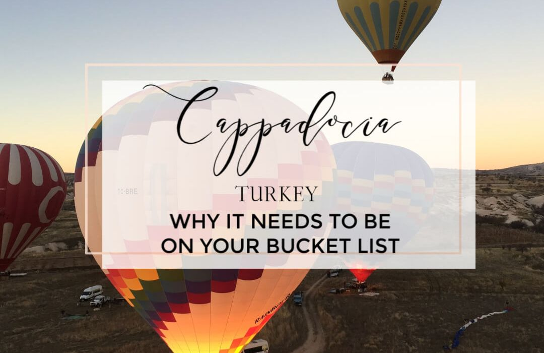 Why Cappadocia Turkey, should be on everyone's bucket list. Discover Goreme and the fairy chimneys. Ride a hot air balloon in Cappadocia and see the town's best attractions.Where to stay in Cappadocia | Cappadocia Turkey caves | Cappadocia Turkey hot air balloon | Cappadocia travel guide | Cappadocia itinerary | Things to do in Cappadocia Turkey |