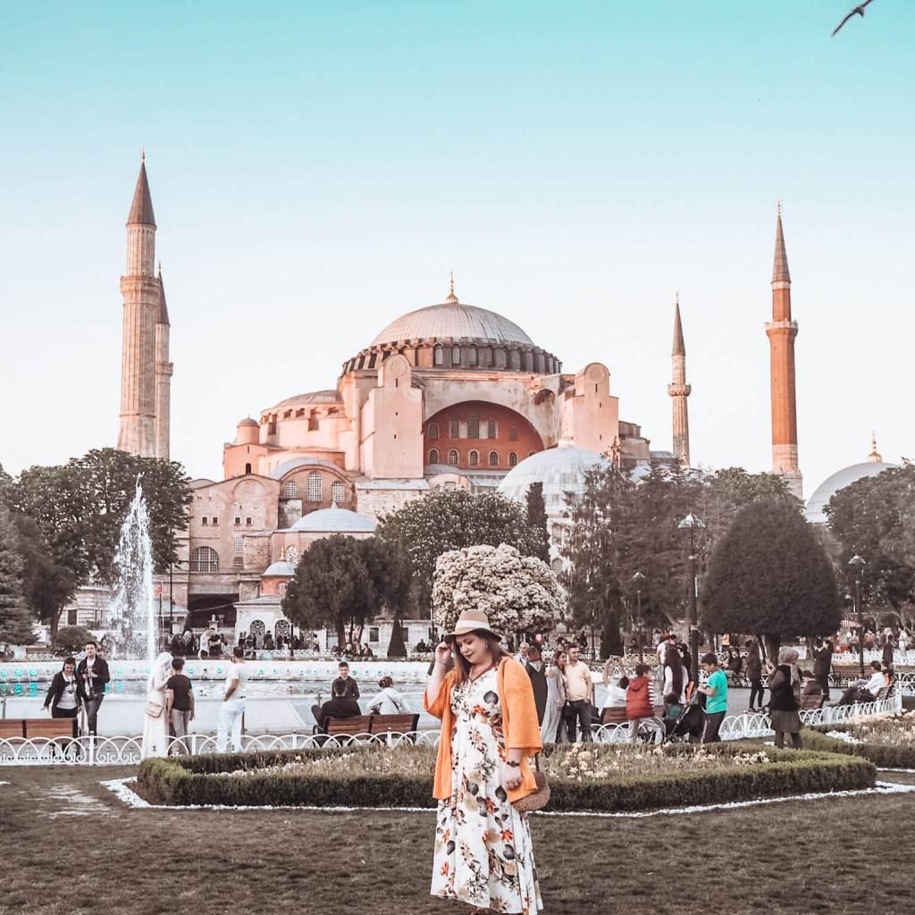 Hagia Sophia Mosque Istanbul. Cappadocia Turkey the ultimate bucketlist place