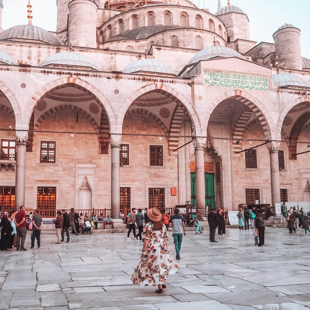 Sultanahmet Blue Mosque Istanbul. A trip to Cappadocia Turkey the ultimate bucket list place