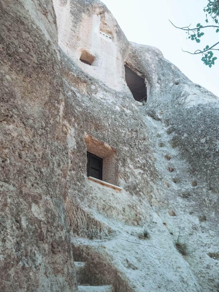 Caves at Goreme Cappadocia, Turkey