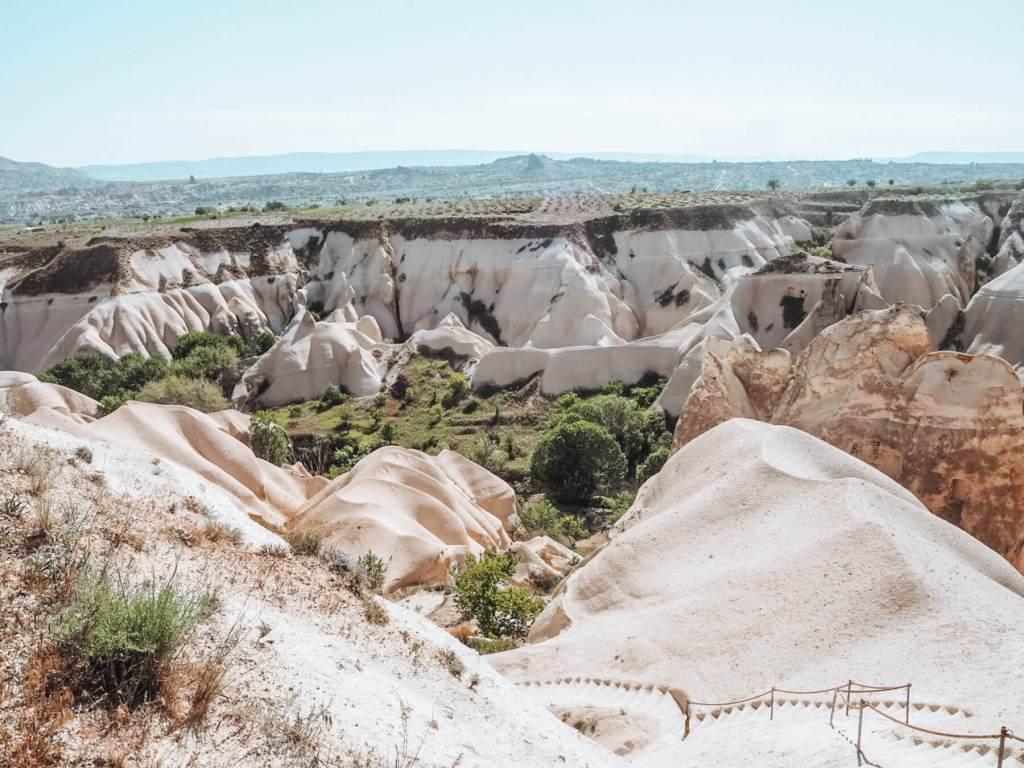 Lunar landscape of Cappadocia, Turkey the ultimate bucket list place.