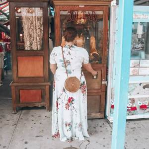 The most instagrammable places in New York. Stillwell Avenue, Coney Island, Brooklyn, New York.