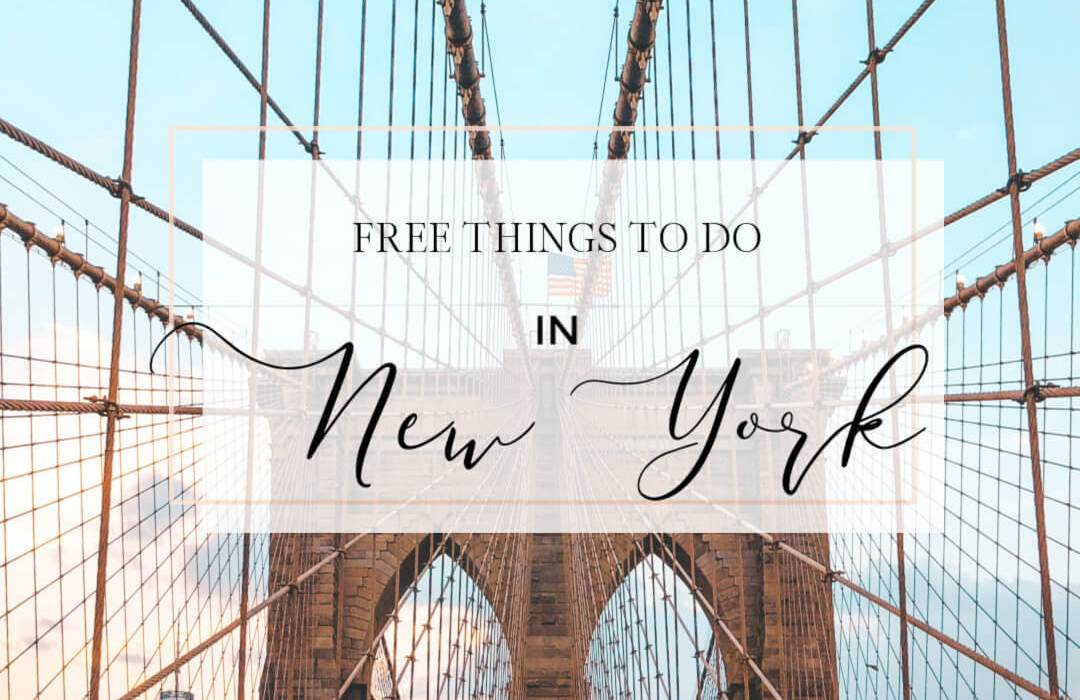 New York City is expensive! Let me help plan your New Tork trip by providing you with a complete guide of free things to do in NYC in Summer. Read more on www.allaboutrosalilla.com #newyork #nyc #freethingstodo #summerinnyc