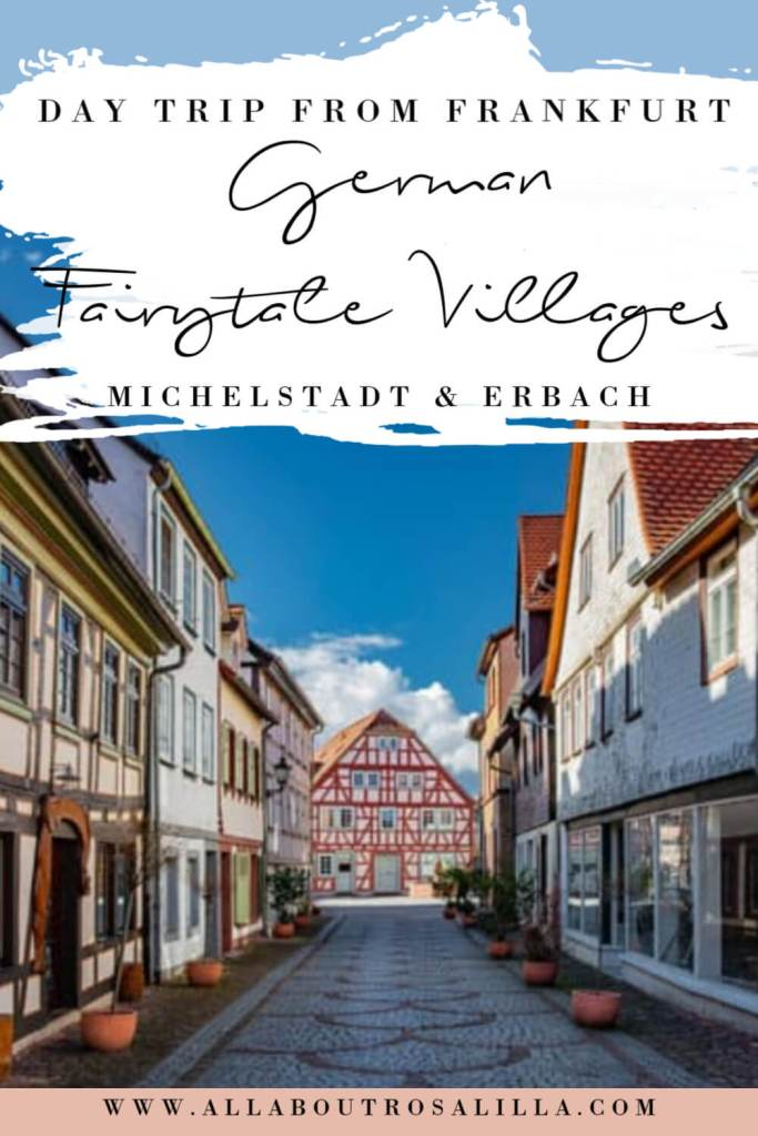 Michelstadt Germany with text overlay