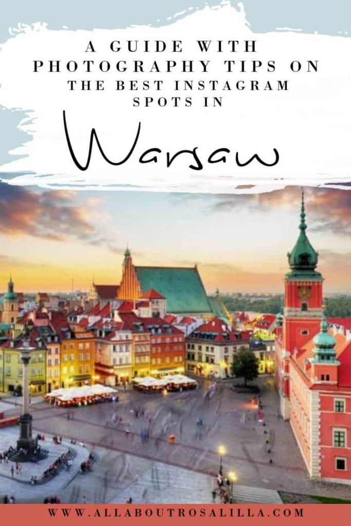 The best Instagram spot in Warsaw Poland