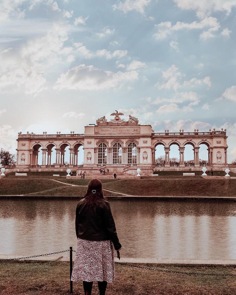 Gloriette at Schonbrunn Palace in Vienna
