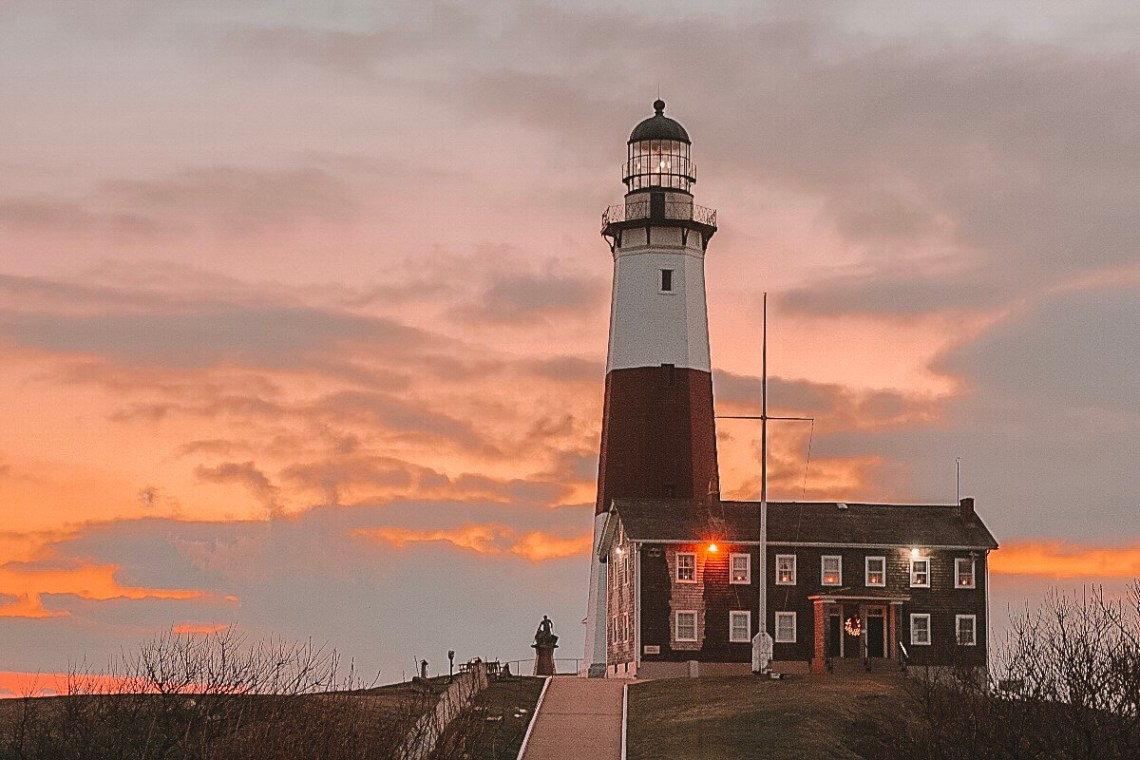 Lighthouse in Montauk Long Island